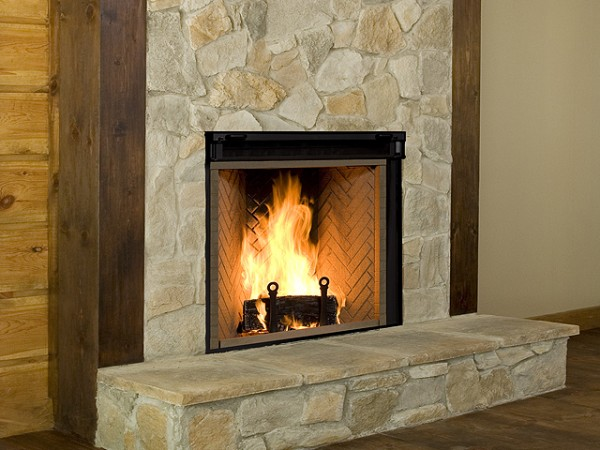 Renaissance fireplaces comox fireplace patio for Rumford fireplace insert